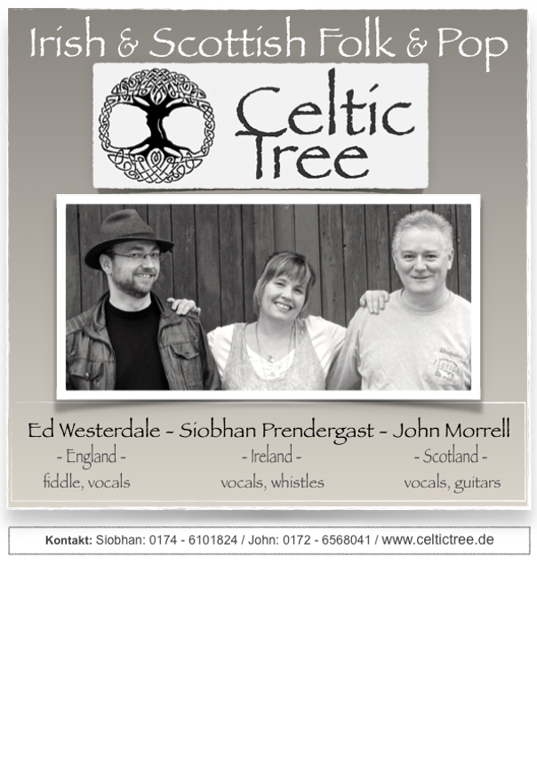 celtic tree trio with ed 2poster